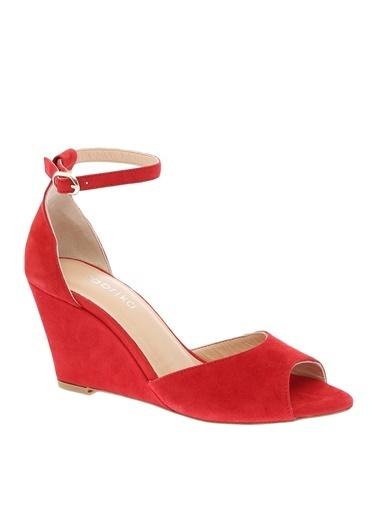Fabrika Sandalet Kırmızı